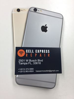 iPhone 6 Plus Unlocked 🔓 Like New ✅ with 30 Days Warranty for Sale in Tampa, FL