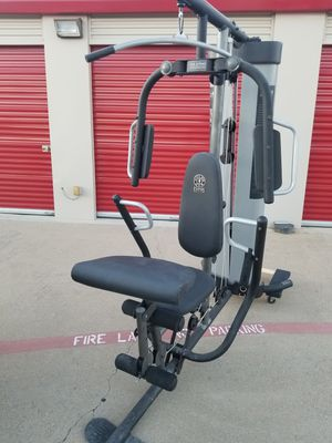 Weight Bench Home Gym Multistation Lat Pull - EXCELLENT for Sale in Mansfield, TX