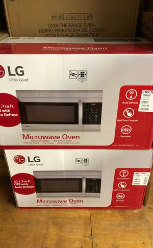 Brand new LG microwave for Sale in Cleveland, OH