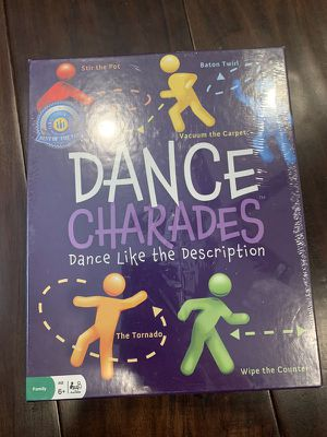 Dance Charades Board Game for Sale in Tustin, CA
