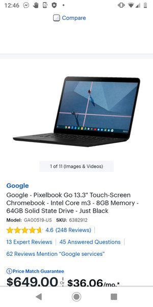 Chromebook for Sale in Kelso, WA