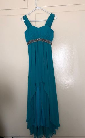 Turquoise prom dress for Sale in Fresno, CA