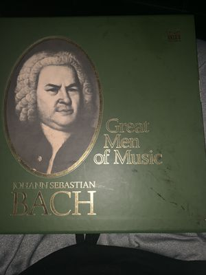 Johann Sebastian Bach - 4 Record Set & Booklet for Sale in Murfreesboro, TN