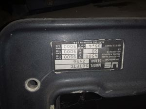 1992 US Marine Chrysler 50 horsepower outboard motor very close to being a good parts two hundred bucks for Sale in Denver, CO