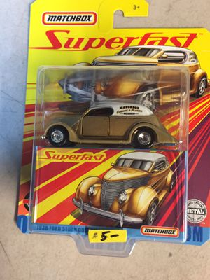 Matchbox superfast 36 Ford sedan custom $5 for Sale in Campbell, CA