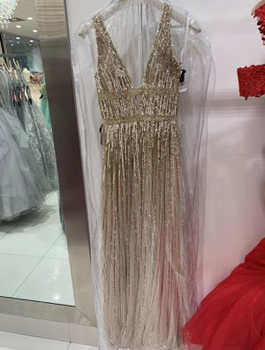 Gold Sequence Dress for Sale in Miramar, FL