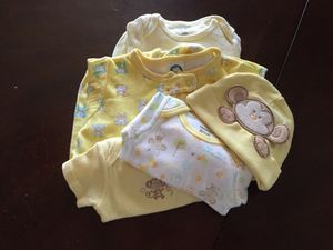 Monkey baby clothes newborn for Sale in Columbus, OH