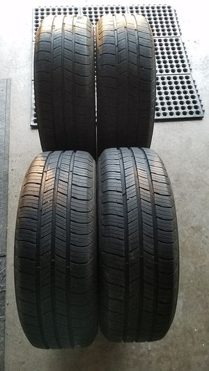 4 X 100 Wheel-Set Michelin Defenders with 98% tread .. 185 65 14 - $300 for Sale in Sacramento, CA