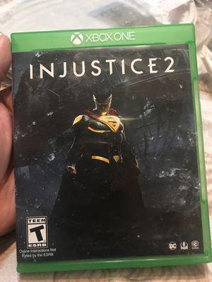 Injustice 2 Xbox one for Sale in Visalia, CA