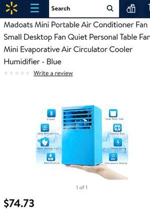Mini portable desk top air conditioner fan for Sale in Knoxville, TN