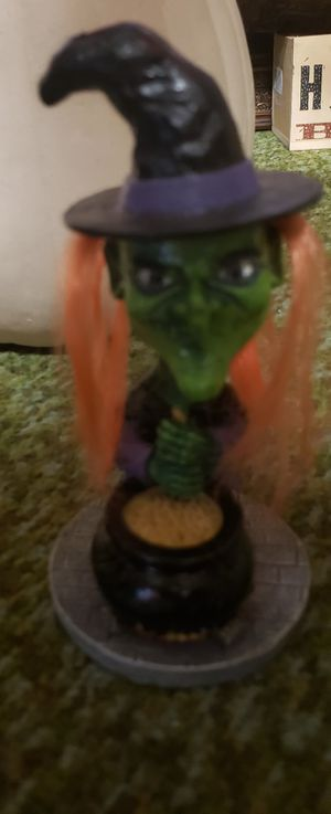 Wacky Witchy poo bobble head for Sale in Joint Base Lewis-McChord, WA