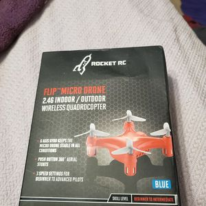 NIB Rocket RC Flip Micro Drone 2.4G Indoor/Outdoor Wireless Quadrocopter for Sale in Rockville, MD