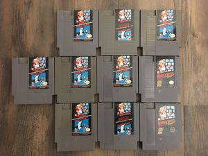 $5 per game - Super Mario Bros Duck Hunt for Nintendo NES for Sale in Brentwood, CA