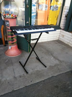 CASIO Electric keyboard CTK-2080 W/ Stand for Sale in Escondido, CA