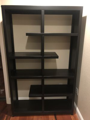 Modern solid wood bookcase book shelf for Sale in Redwood City, CA