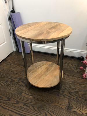 Wooden side table - hardly used!! for Sale in Brooklyn, NY