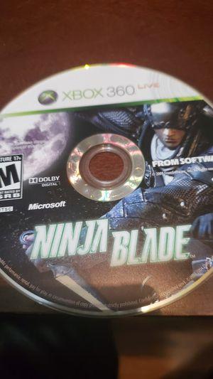Ninja blade xbox 360 for Sale in Riverside, CA