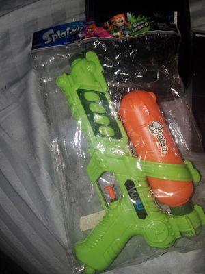 Splatoon water gun for Sale in Los Angeles, CA
