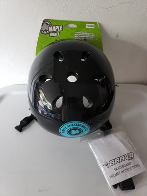 Youth Skate Bike Helmet brand new Maple black from Target for Sale in Silver Spring, PA
