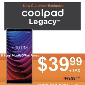 Coolpad Legacy for Sale in Fort Pierce, FL