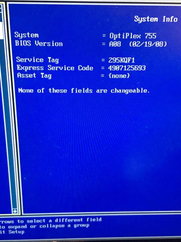 Dell Optiplex 755 Bios A22 ••▷ SFB