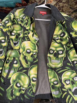 Supreme Skull Pile Jacket sz XL for Sale in Bellmawr, NJ