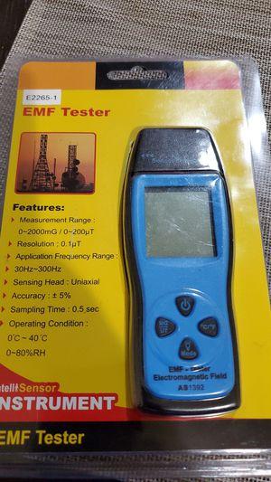 EMF Meter KKmeter Electromagnetic Field Radiation Detector for Sale in Fontana, CA