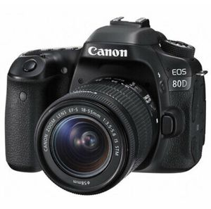 Canon EOS 80D 24.2MP Digital SLR Camera With EF-S 18-55mm f/3.5-5.6 IS STM Lens for Sale in Jersey City, NJ