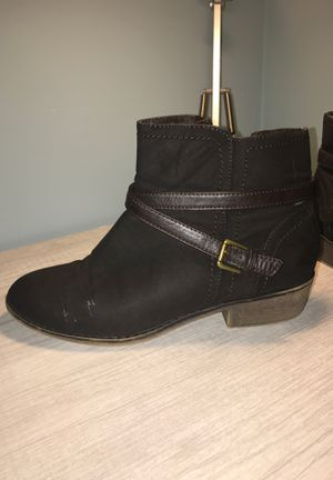 Brown ankle boots for Sale in Marietta, GA