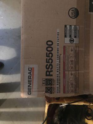 Generac Generator 5500 for Sale in Herndon, VA