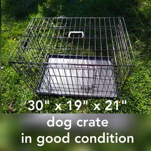 """30""""x19""""x21"""" dog crate in good condition for Sale in Hayward, CA"""