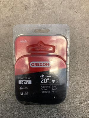 """Oregon 20"""" H78 replacement chain for chainsaw— new!! for Sale in Sacramento, CA"""
