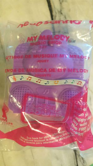 Brand new sealed My Melody cute fun kids children toy figure music Hello Kitty purple for Sale in Scottsdale, AZ