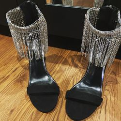 New! Bling Fringe Heels for Sale in Washington,  DC