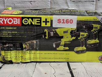 Ryobi 4Pc. Combo Kit for Sale in San Jose,  CA