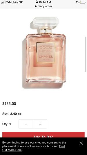 Coco Chanel madenmoiselle perfume like new for Sale in Federal Way, WA