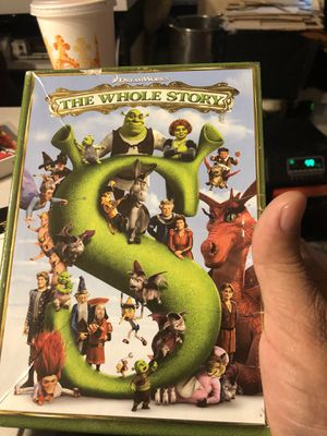 Shrek whole story 5 dvd set for Sale in Lake Oswego, OR