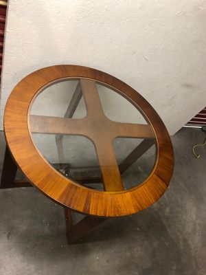 table ***glass wood *** for Sale in Las Vegas, NV