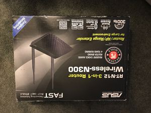 Asus Rt-12 3 in 1 Router for Sale in Toms River, NJ
