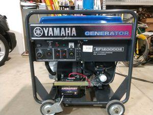 Yamaha EF12000DE Portable Gas Generator for Sale in Heidelberg, PA