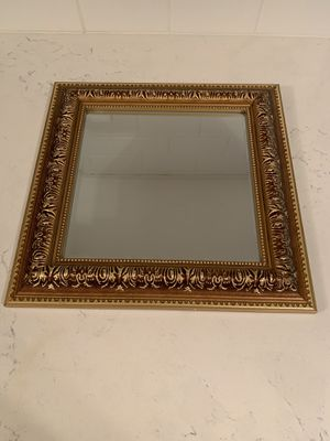 Gold tone ornate mirror for Sale in Falls Church, VA