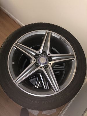 Mercedes e-class wheels and tires for Sale in Fairfax, VA
