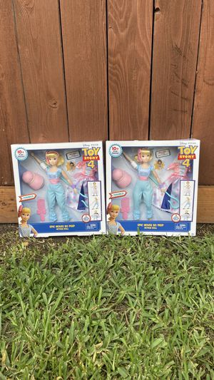 Toy Story 4 Bo Peep Action Figure Dolls (INCLUDES SHERIFF!) for Sale in Houston, TX