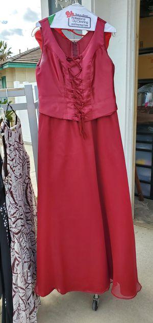 Burgundy Quinceanera Dress for Sale in Riverside, CA