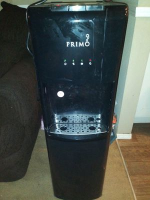 Primo water dispenser. Hot and cold.... Bottom fed from reservoir for Sale in Baton Rouge, LA
