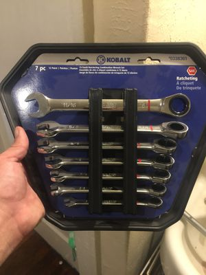 Kobalt Ratcheting wrench's set for Sale in Dallas, TX