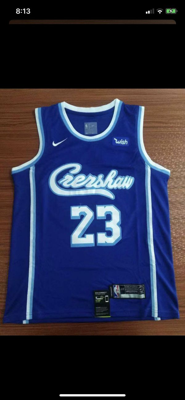 Crenshaw Lebron jersey