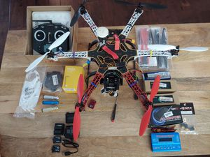 Drone - DJI Flamewheel 550 w/SunnySky X2212-13 propulsion system & Nada V2 - complete package for Sale in Houston, TX