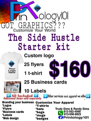 Logos, flyers, business cards, party invitations, t-shirts, labels for Sale in Ruskin, FL