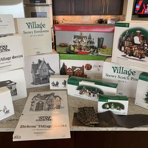 Huge Lot of Dept 56 Dickens' Village for Sale in Bellevue, WA